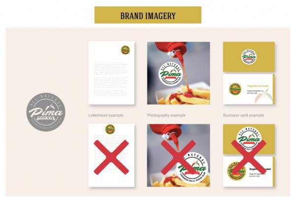 Pima brand style guide
