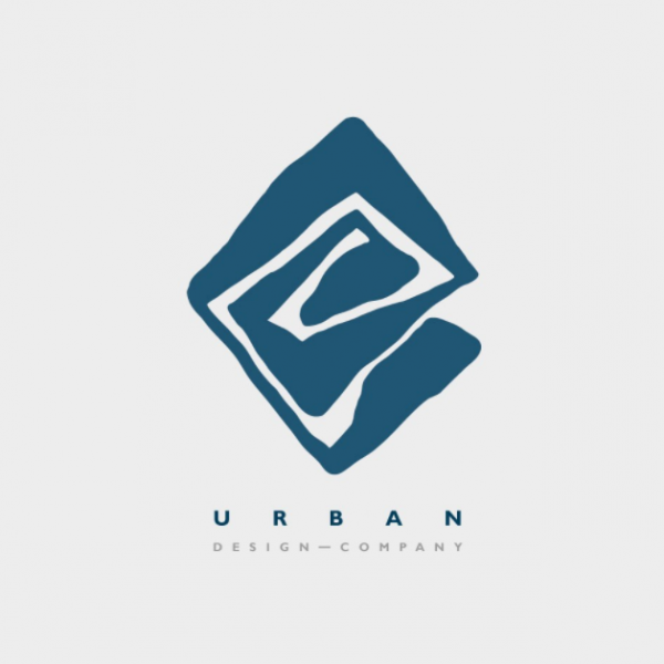logo  with solid shape