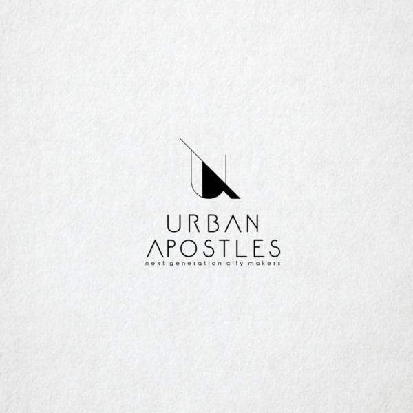 logo  with line art