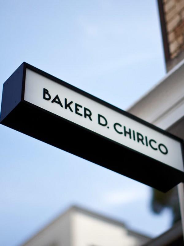 Baker D. Chirico sign