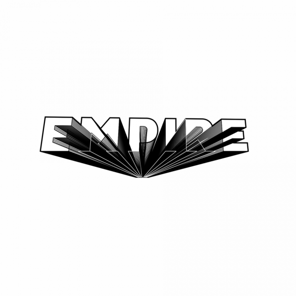 logo type with experimental 3D technique