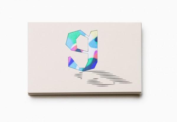 "logo where ""g"" masks a variable abstract pattern"