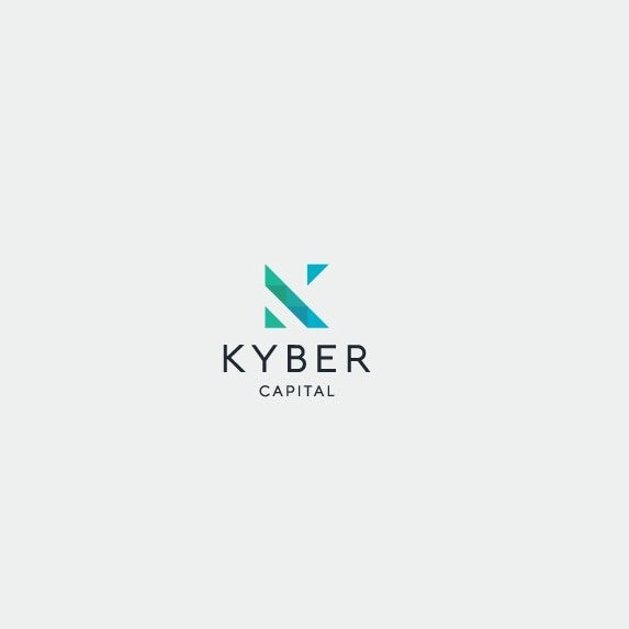 "logo  with minimal geometric letter ""K"""