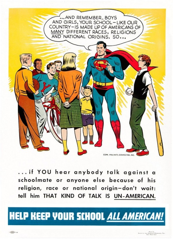 Superman's message of equality