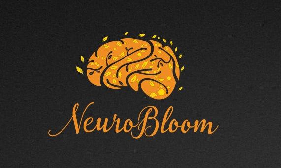 logo  depicting brain as tree