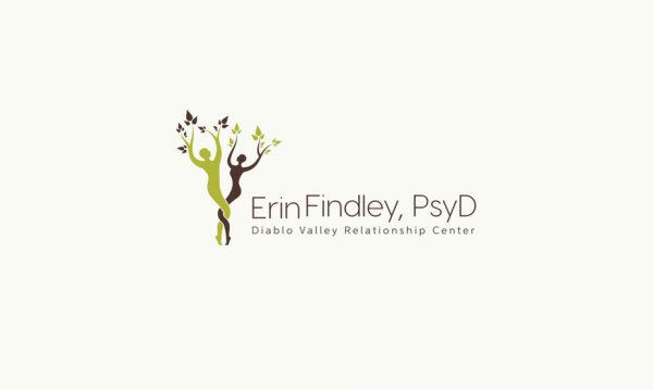 logo  with two tree figures
