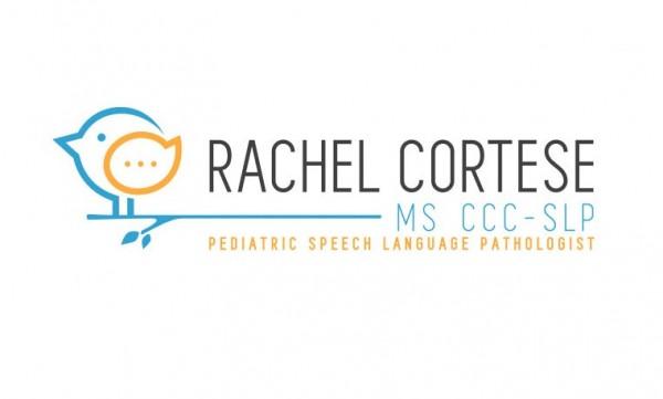 logo  with speech bubble inside bird head