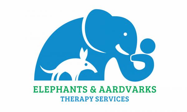 logo  with elephant and aardvark