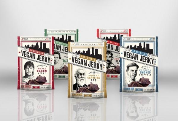 Louisville Vegan Jerky Packaging