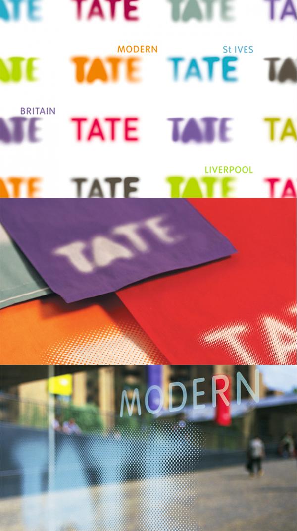 tate modern logo design
