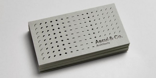 Ascui Card by Grosz Co Lab