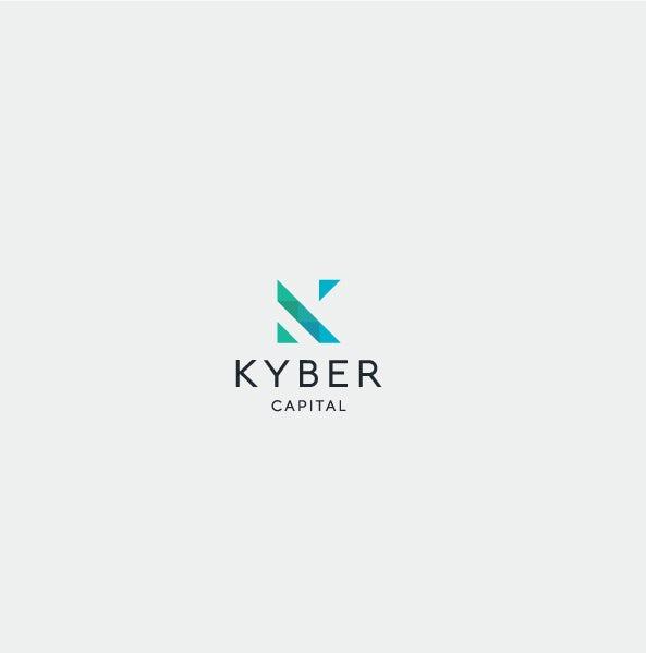 A geometric monogram  logo