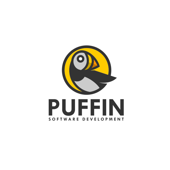 Puffin logo design