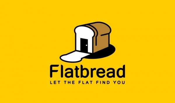 Flatbread logo design