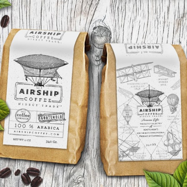 airship coffee logo