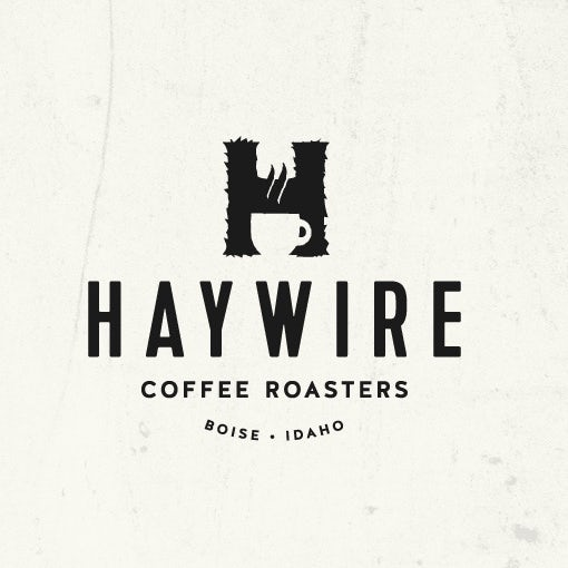 Haywire coffee logo design