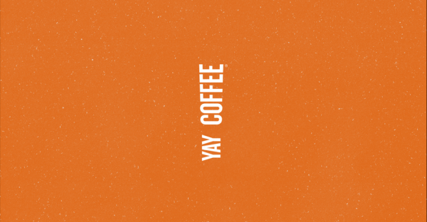 Yay coffee logo design