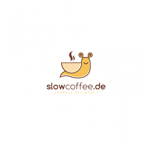 slow coffee snail design