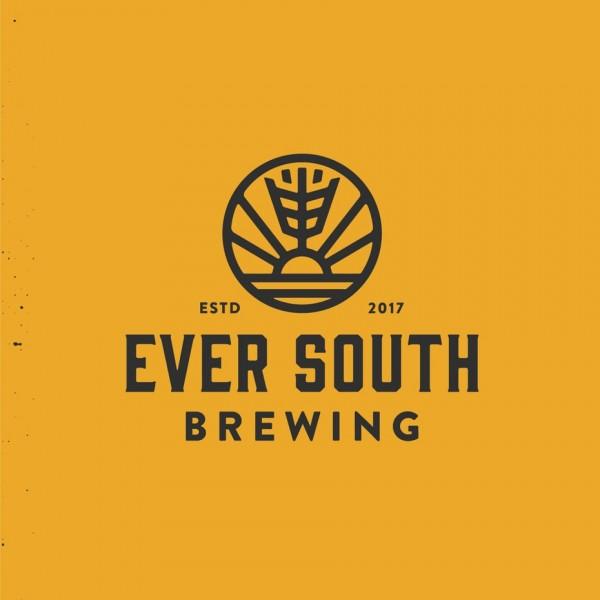 Ever South brewing  logo  design