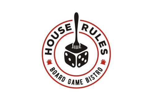 House Rules Board Game Bistro logo