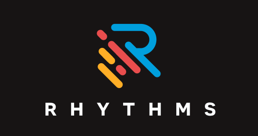 Rhythms app  logo  design