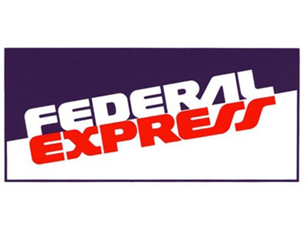 Federal Express (now FedEx) logo from 1973
