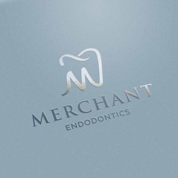 Endodontics  logo  design