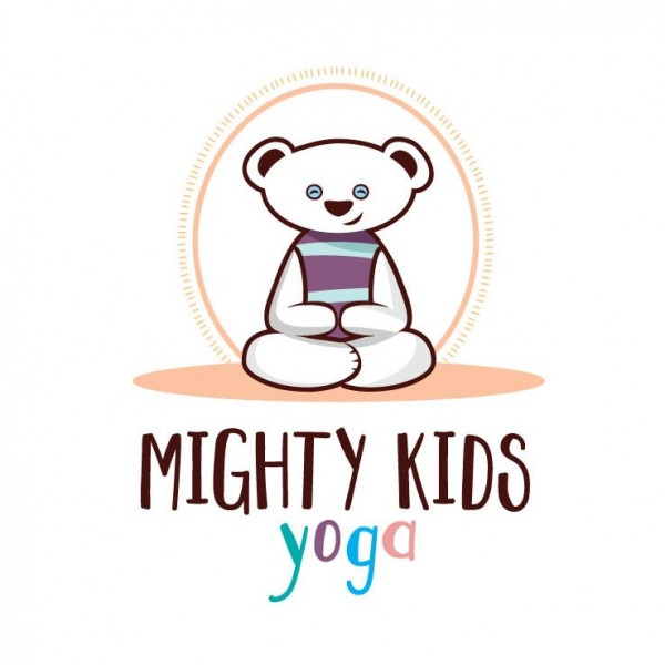Mighty Kids Yoga logo