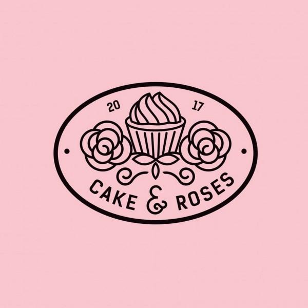 Sweetooth  logo : Cake & Roses
