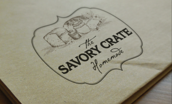 The Savory Crate logo
