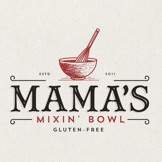 Mama's Mixin' Bowl  logo