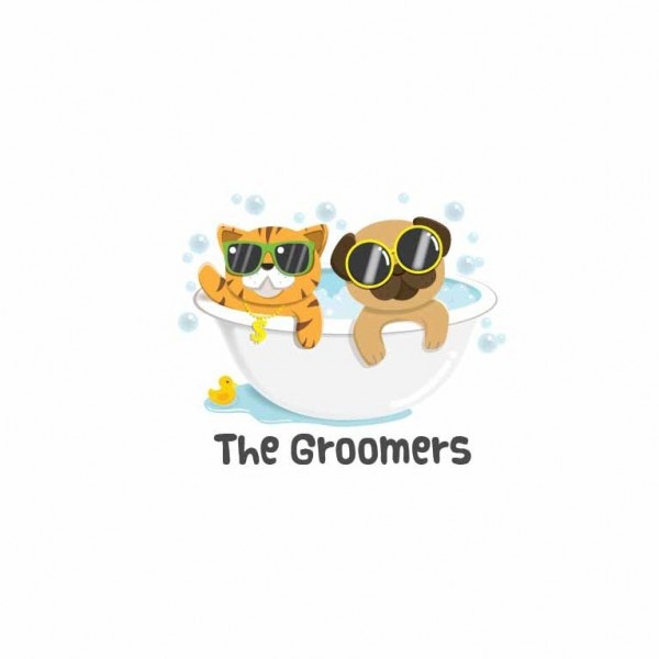 The Groomers logo