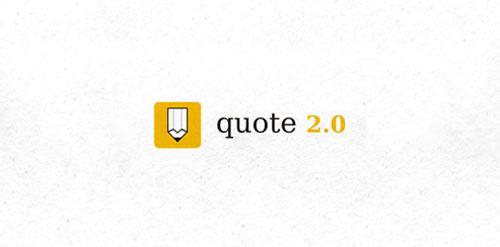 Quote 2.0