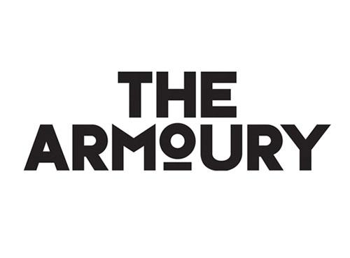 The Armoury identity design
