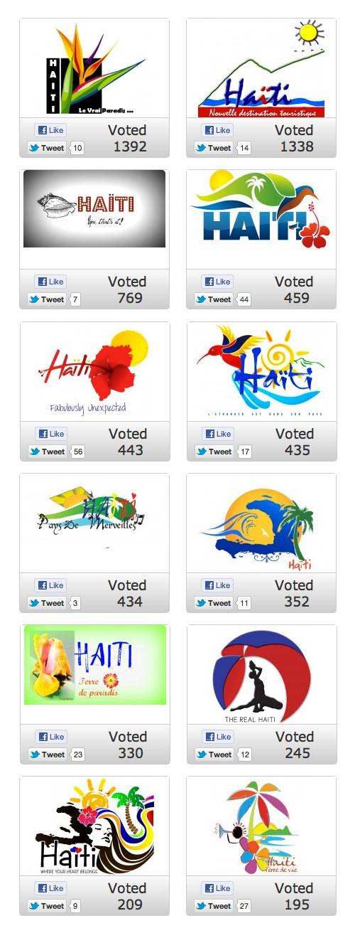 Haiti logo contest