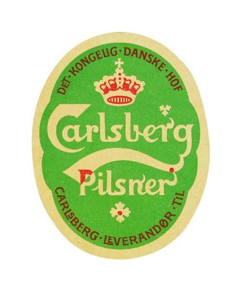 Carlsberg label 1904
