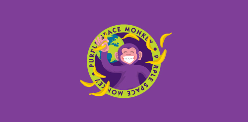 Purple Space Monkey