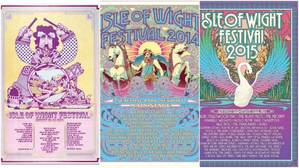 Isle of Wight Festival posters