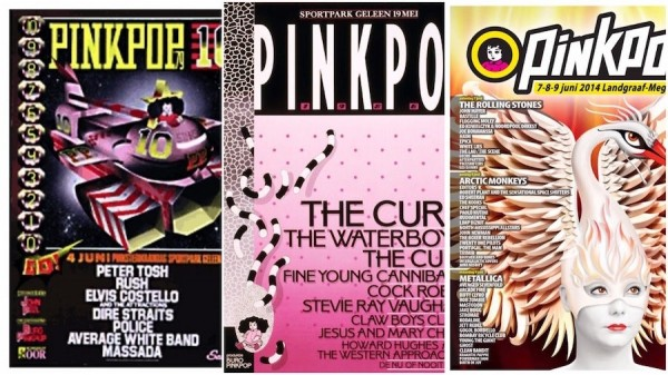 Pinkpop Festival posters