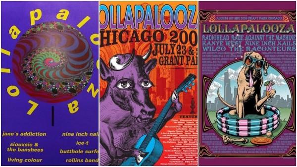 lollapalooza festival posters
