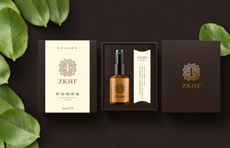 中科汉方品牌标志设计